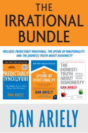 Dan Ariely; The Irrational Bundle: Predictably Irrational, The Upside of Irrationality, and The Honest Truth About Dishonesty (அமேஸான்)