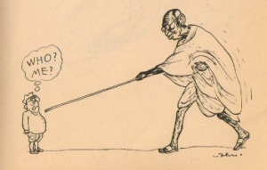 எஸ், ராமகிருஷ்ண மனுஷ்யபுத்திரன்கள்... (அபு அப்ரஹாம் அவர்களின் ஒரு பழைய கேலிச்சித்திரம்)