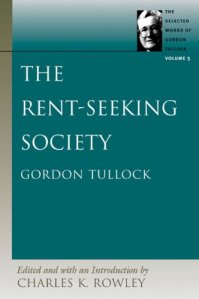 Gordon Tullock - is a genius Economist who works in the area of public choice; he developed the theory of 'rent-seeking' in the context of USA, and then extended it to the whole humanity. Of course, he would not know that the stellar examples of his ideas would be our very own fellows from the infamous Dravidian Movement....